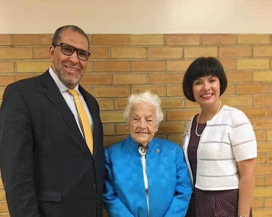 President of Ryerson University, and Health Minister Ginette Petitpas Taylor. Hazel McCallion, Revera's Chief Elder Officer, shared her message of living a life or purpose with Mohamed Lachemi.