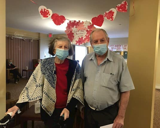 Residents at Stittsville Villa & Manor love to take part in theme days, such as Valentine's Day and recently St. Patrick's Day.