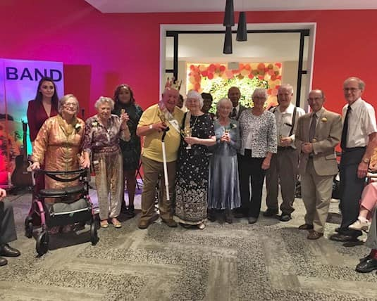 Prom night was a magical event for residents at Westney Gardens.