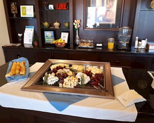 Birkdale Place loves to entertain residents and families and the culinary team loves to serve.