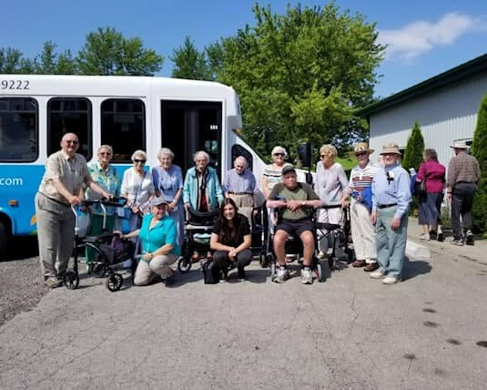 Birkdale Place organized a boat cruise for residents