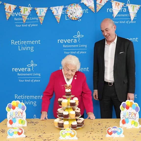 Hazel McCallion, Chief Elder Officer of Revera