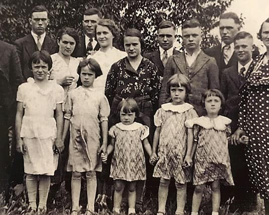 The Durand family including Albert, Cécile and Gabrielle
