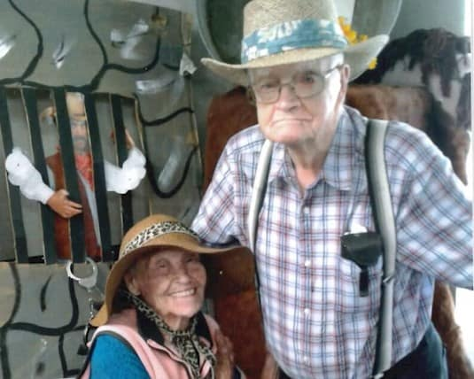 Russell and Mildred prove that time is no match for their love.