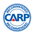 Recommended by CARP logo