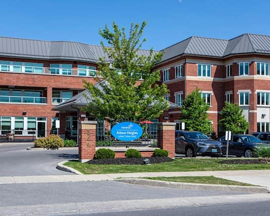 Exterior, Arbour Heights Long Term Care home, Kingston
