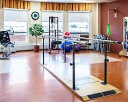 Exercising Room, Arbour Heights Long Term Care home, Kingston