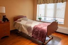 Bedroom, Arbour Heights Long Term Care home, Kingston