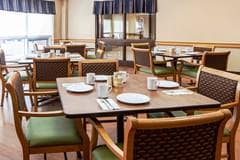 Dining Room, Arbour Heights Long Term Care home, Kingston