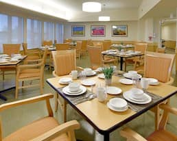 Dining Room, Elmwood Place Long Term Care Home, London