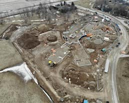 Construction Update March 2020, Elmwood Place Redevelopment
