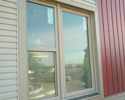 Elmwood Place Long Term Care Home Redevelopment, London, Construction photo of window from May 202