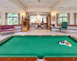 Games Room, Holyrood Manor, Maple Ridge