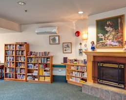 Library, Holyrood Manor, Maple Ridge