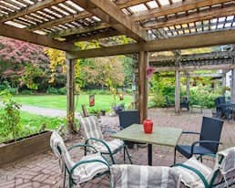 Patio, Holyrood Manor, Maple Ridge
