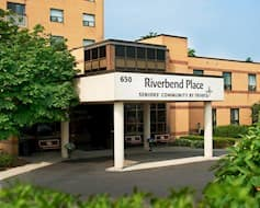 Exterior Riverbend place Cambridge