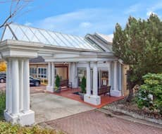 Entrance, Royal City Manor, New Westminster