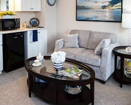 Model Suite, Living Room, Alta Vista, Ottawa