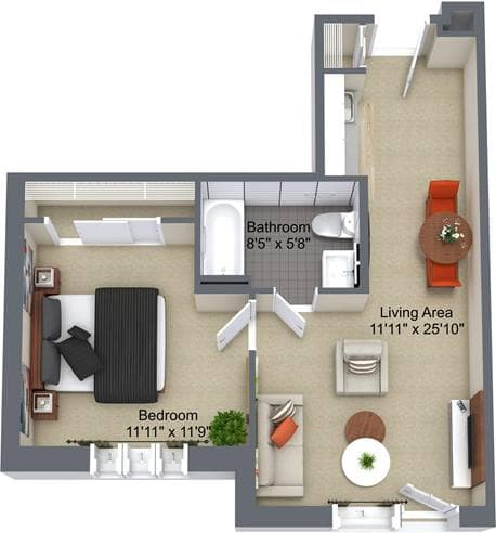 Alta Vista 1 Bedroom