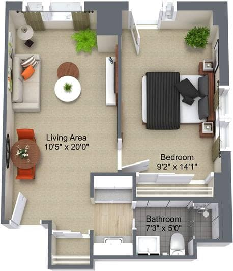 Appleby Place 1 Bedroom