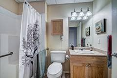 Model Suite, Bathroom, Aspen Ridge, Red Deer