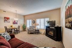 Model Suite, Living Room, Aspen Ridge, Red Deer