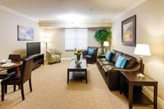 Model Suite, Living Room, Birkdale Place, Milton