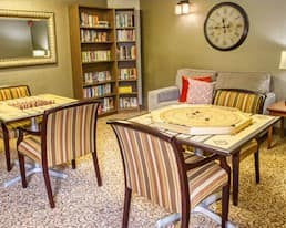 Games Room, Briargate Retirement Residence, Amherstview