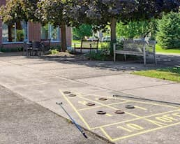 Outdoor Games, Briargate Retirement Residence, Amherstview