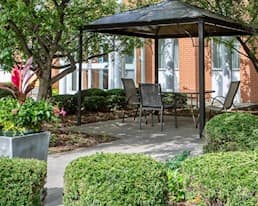 Patio, Briargate Retirement Residence, Amherstview