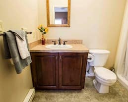 Model Suite Bathroom Cambridge Estates St. Johns