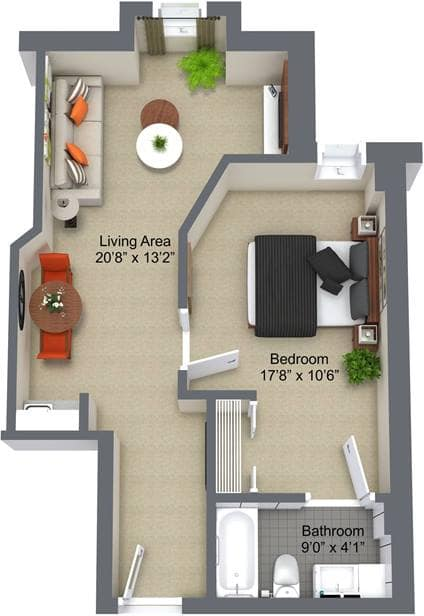 Colonel By 1 Bedroom