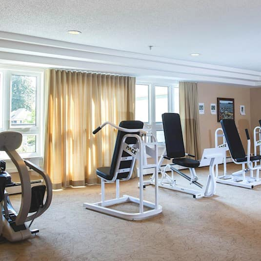 Exercise Room, Crofton Manor, Vancouver