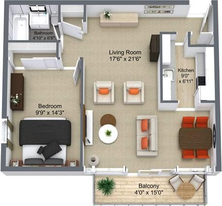Don Mills SA 1Bedroom