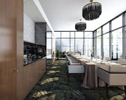The Gild Private Dining Room, Glenora Park, Edmonton