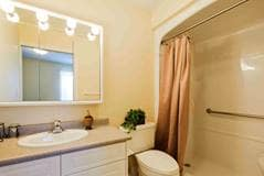 Model Suite, Bathroom, Grand Wood Park, London