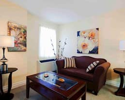 Model Suite, Living Room, Grand Wood Park, London