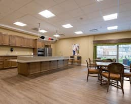 Demonstration kitchen, Green Falls Landing, Regina