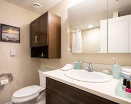 Model Suite Bathroom, Green Falls Landing, Regina