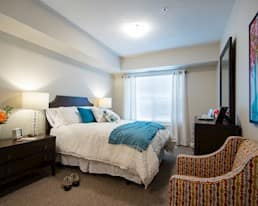 Model Suite Bedroom, Green Falls Landing, Regina