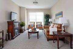 Model Suite, Living Room, Greenway, Brampton
