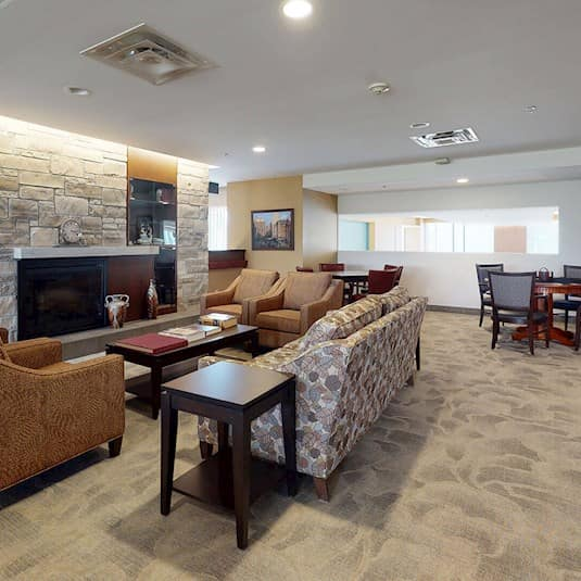 Library and Games Room, Greenway Retirement Residence, Brampton