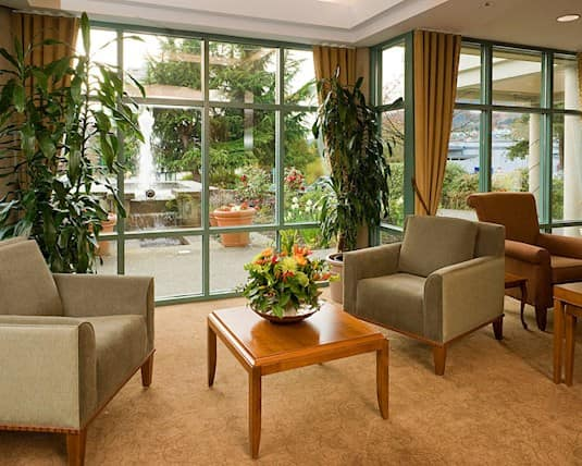 Lounge, Hollyburn House, West Vancouver