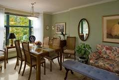 Model Suite, Dining Room, Hollyburn House, West Vancouver