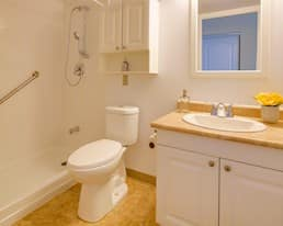 Model Suite, Bathroom, King Gardens, Mississauga