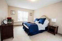 Model Suite, Bedroom, Landmark Court, Ottawa