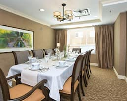 Private Dining Room, Maplecrest Village, Grimsby