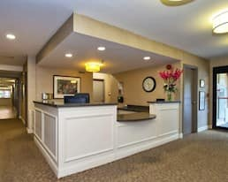 Reception, Maplecrest Village, Grimsby