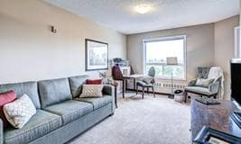 Model Suite, Living Room, McKenzie Towne, Calgary