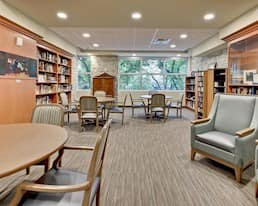 Library, Our Parents' Home Retirement Residence, Edmonton